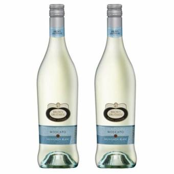 2 X BROWN BROTHERS MOSCATO and SAUVIGNON BLANC 750ml