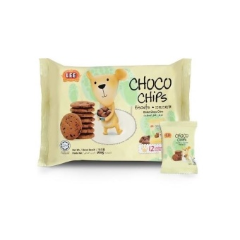 Harga Lee Choco Chips Biscuits (160g)