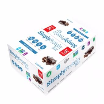 Harga Simply Protein Cocoa Coffee Bar (15 bars per box)
