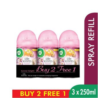 Harga Air Wick Life Scents Summer Delights Refill Triple Pack