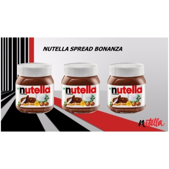 Harga Nutella Hazelnut Spread [Bundle of 3 Jars x 350 grams ]