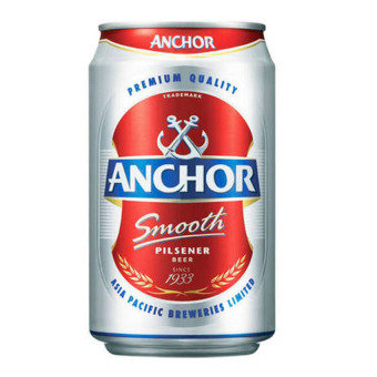 Harga Anchor Smooth Pilsener Beer 24 x 323ml