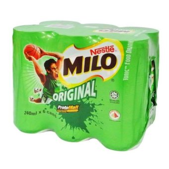 Harga Milo Ready-To-Drink Actigen-E Origl Canned 6S 240ML