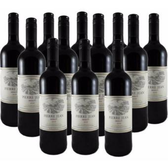 Harga Pierre Jean Merlot 750ml x 12 Bottles