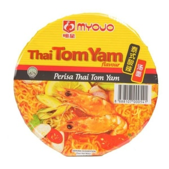Harga Myojo Bowl Noodles - Thai Tom Yam 80G