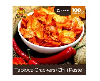 Harga Foodee Tapioca Chips Chili Paste (175g)