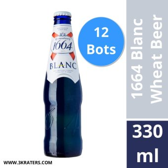Harga Kronenbourg 1664 Blanc Wheat Beer 330ml (Box of 12)
