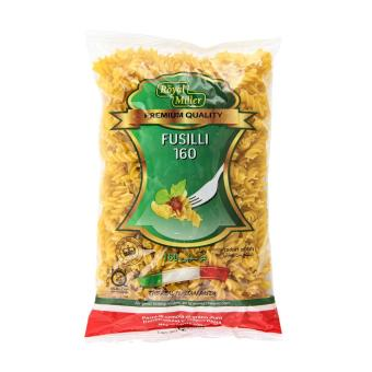 Harga [Bundle of 12 Packets]Fusilli FTO 160 - Royal Miller 500gm/Pkt