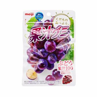 Harga Meiji Fruits Gummy Grape 51g