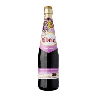 Harga Ribena Less Sweet Blackcurrant Juice Cordial - 1 x 1 L