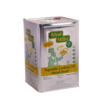 Harga Cooking Oil - Royal Miller 17kg/tin.