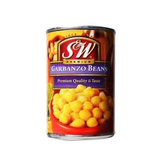 Harga S&W (Can) - Garbanzo Beans (439g)