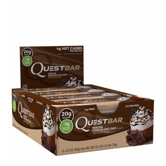 Harga Quest Bars (12 Bars Per Box) - Mocha Chocolate chip