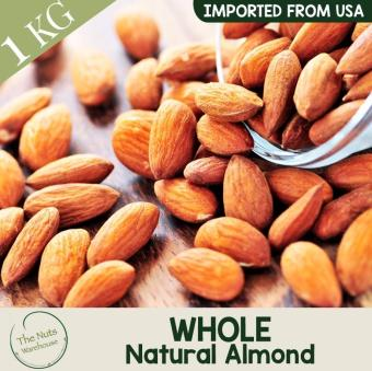 Harga The Nuts Warehouse Whole Natural Almond 1kg