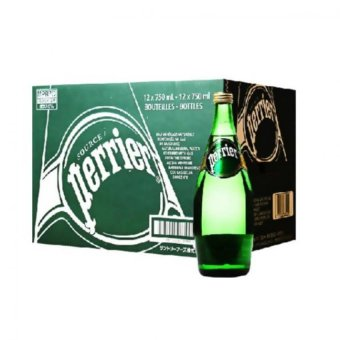 Harga Perrier Natural Mineral Water 12 X 750ml