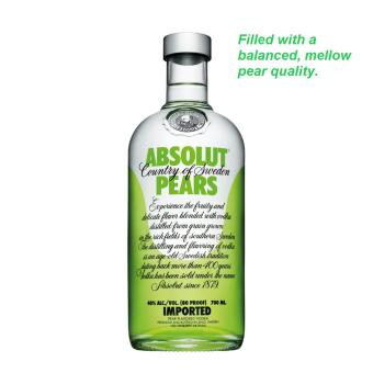 Harga Absolut Vodka Pears 75cl