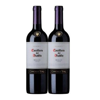 Harga [Bundle] Casillero del Diablo Merlot (750ml) x 2