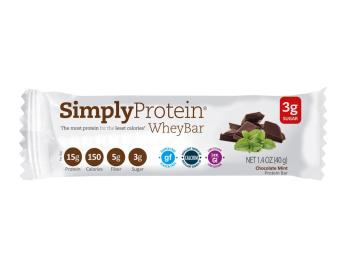 Simply Protein Bar - Chocolate Mint Whey(x12)