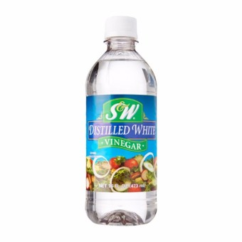 Harga S&W White Distilled Vinegar 473 ml