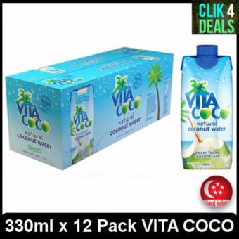 Harga VITA COCO Natural Coconut Water 330ml x 12 packs