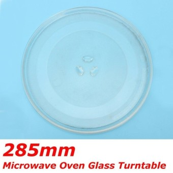 1Pc Clear Microwave Oven Turntable Glass Tray Glass Plate Accessories Dia:28.5Cm - intl