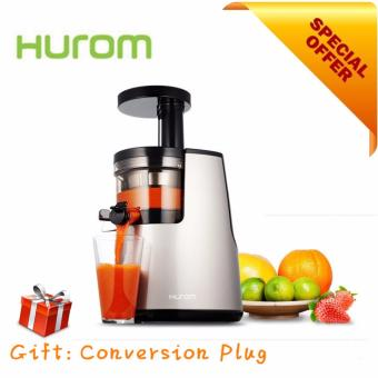 Harga High Quality Hurom HH-SBF11 2nd Generation Slow Juicer (Silver/Free Conversion Plug)