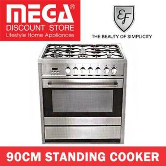 Harga Ef 90Cm Standing Cooker With 5 Burners Gc Ae 9650