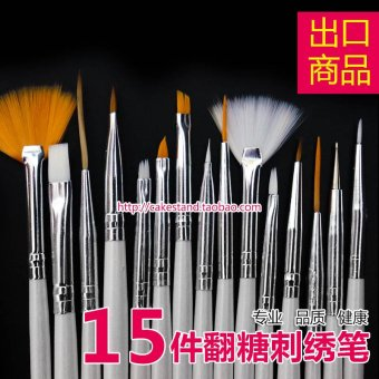 Harga Embroidery cake art painting brush