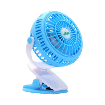 Harga Baby baby stroller mini small fan clip fan can be charging student dormitory USB bed children's portable-