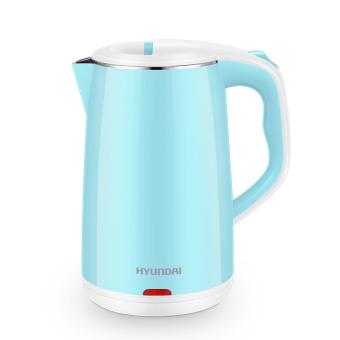 Harga Hyundai Electric Kettle QC-SH1818D Stainless Steel Safe To Touch