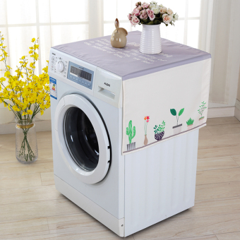 Harga Good Seoul us washing machine cover Haier drum Automatic Washing Machine Sets universal refrigerator cover cloth small Swan SIEMENS