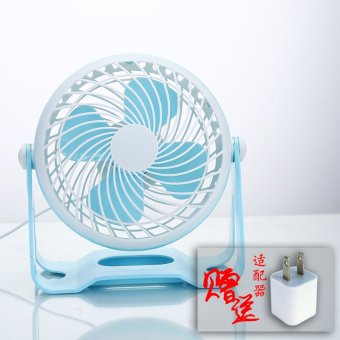 Harga Dormitory student fan small table fan 7 mute usb fan small electric fan desktop mini fan