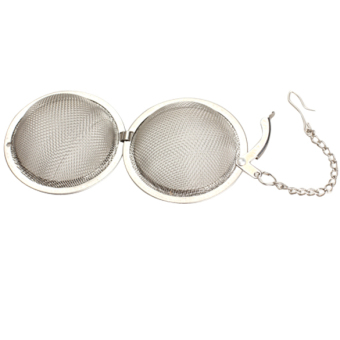 Harga Stainless Steel Tea Strainer Egg Shaped Spice Mesh Tea Ball Infuser Filter
