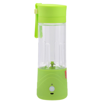 Harga ZUNCLE JC-01 Portable USB Rechargeable Juice Blender (Green)