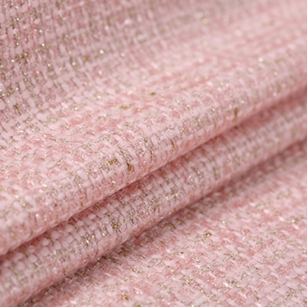Harga Bartholomew can 17 color romantic spring catwalk models of small fragrant wind tweed wool blended woven fabric