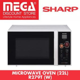 Harga Sharp R-279T(W) 22L Instant Chef Microwave Oven