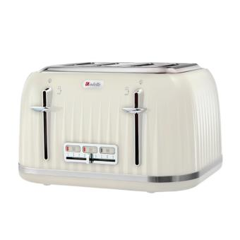 Harga Odette Four Slice Retro Design T382D Toaster