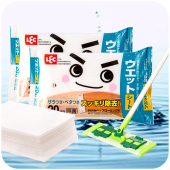 Harga Japan mop electrostatic precipitator dust paper living room floor to decontamination wipes kitchen a of cleaning flat mop