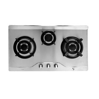 Harga EF EFH3763TNVSB Built in Stainless Steel Gas Hob 73cm