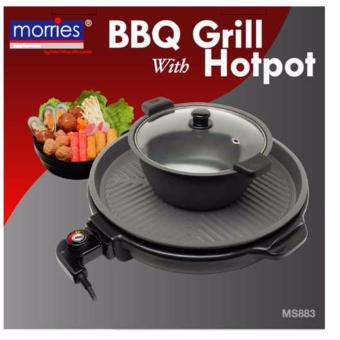 Harga MORRIES HOTPOT WITH BBQ MS-883