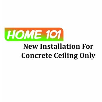 Harga New Installation For Solid Ceiling Only