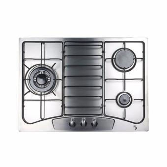 Harga EF EFH3760TNVSB Built in Stainless Steel Gas Hob 68cm