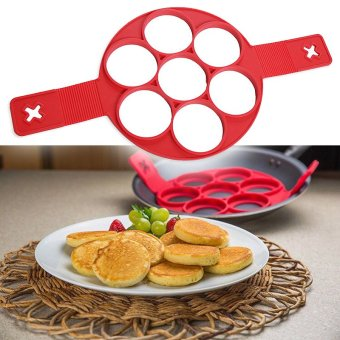 Harga New Non Stick Flippin Fantastic Nonstick Pancake Maker Egg Ring Maker Kitchen Flippin Fantastic Nonstick Pancake Maker - intl