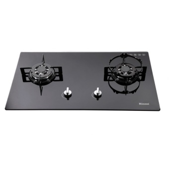 Harga Rinnai RB712NG Black Glass Hob Built In Hob