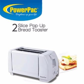 Harga Powerpac 2-Slice Pop up Toaster PPT02