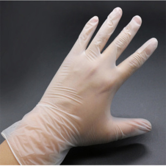 Harga Face master disposable pvc gloves/gym gloves 20 only boxed baking pastry lms medium and small