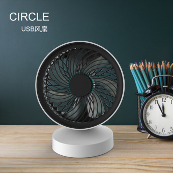 Harga USB can be charging mute mini office desk small fan small portable Student Dormitory desktop electric fan bedside