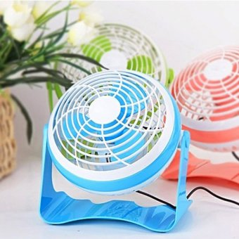 Harga Dormitory 7 household mute electric fan USB fan student fan small table fan small fan mini fan