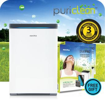 Harga novita PuriClean™ Air Purifier NAP866 + FOC 2 x Filter Pack & 3 Years Full Warranty