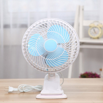 Harga fan fan mini clip fan shook his head mute electric fan student dormitory office desk fan bi